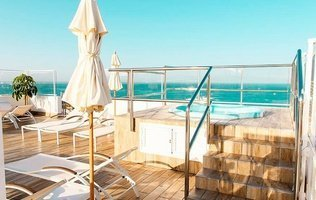 Jacuzzi - Sundeck Ocean View Coral Ocean View Hotel