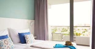 Superior suite with pool-sea view 2 adults Coral Ocean View Hotel